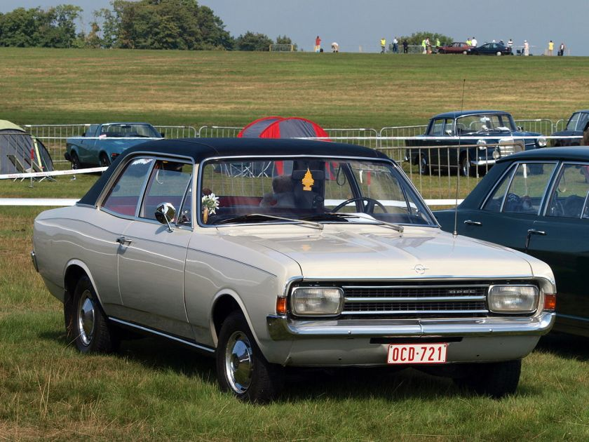 1971 Opel Rekord C 2-door Sedan-saloon-Berline