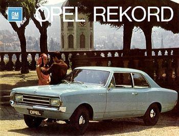 1971 opel rekord c-a