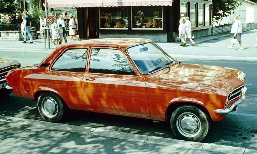 1972 Opel Ascona 2 d Interlaken