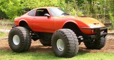 1972 Opel GT super