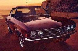 1972 Opel Manta Luxus