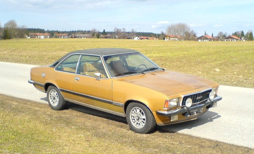 1972–77 Opel Commodore B GSE Coupe