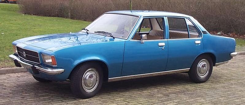 1972–77 Opel Rekord D 1975
