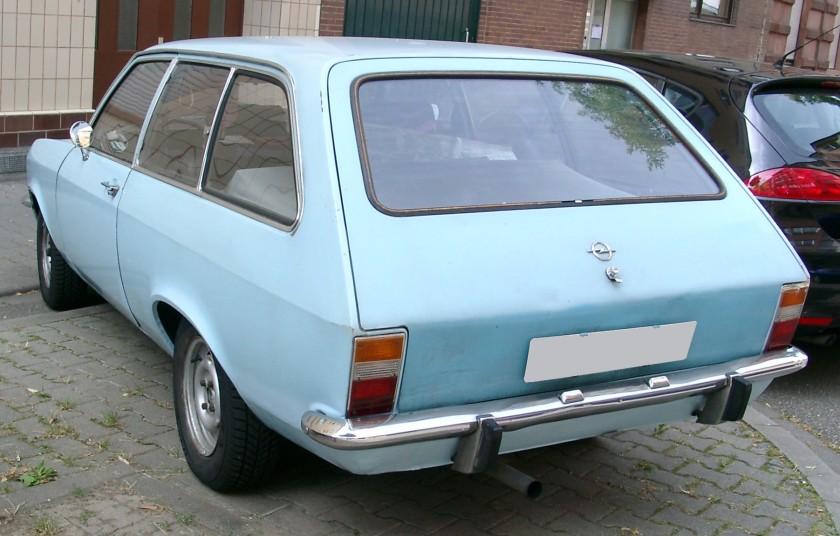 1973-75 Opel Ascona A Kombi Caravan