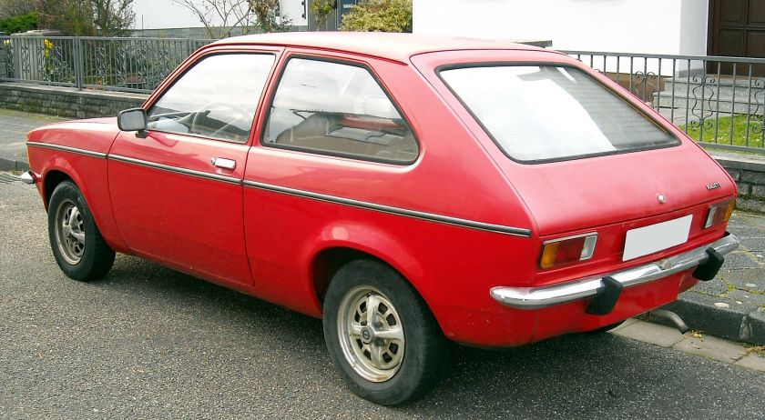 1973-77 Opel Kadett C City rear
