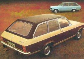 1973 Opel Ascona Wagon