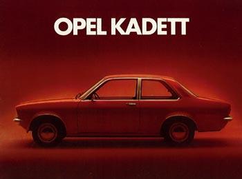1973 opel kadet c-a