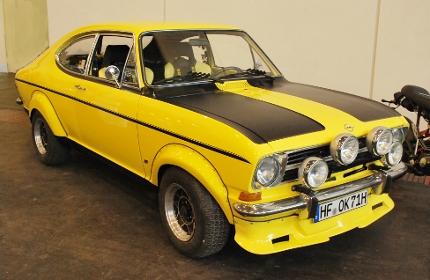 1973 Opel kadett-B sport rally