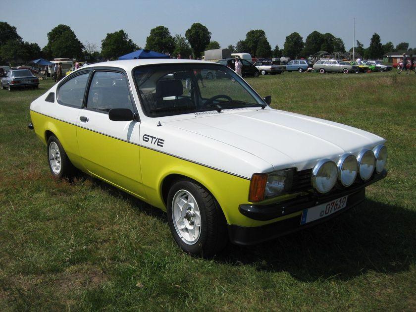 1973 Opel Kadett Coupé GTE