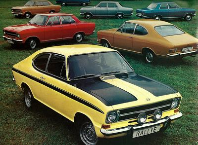 1973 Opel Kadett Rallye