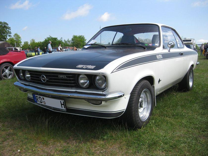 1974-75 Opel Manta A GTE