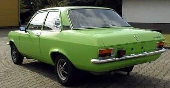 1974 Opel Ascona A rear