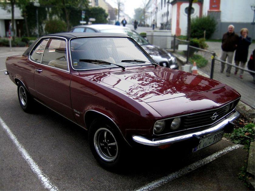 1974 Opel Manta A