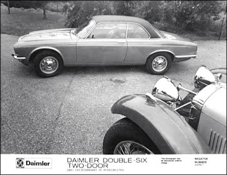 1975 Daimler double-six coupe