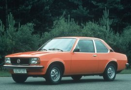 1975 Opel Ascona 2 Door Luxus