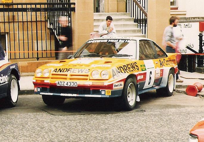 1975 Opel manta 400 R Brookes