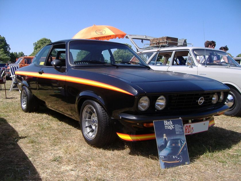 1975 Opel Manta A Black Magic