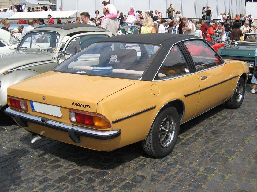 1975 Opel Manta B Coupé