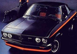 1975 Opel Manta Black Magic