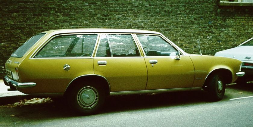 1975 Opel Rekord D Break