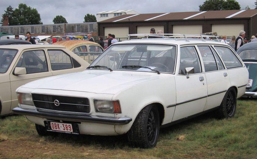 1975 Opel Rekord D Kombi Caravan