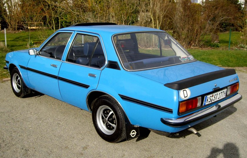 1975–81 Opel Ascona B 1,6 N SR rear