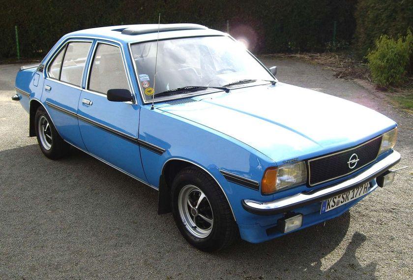 1975–81 Opel Ascona B 1,6 N SR