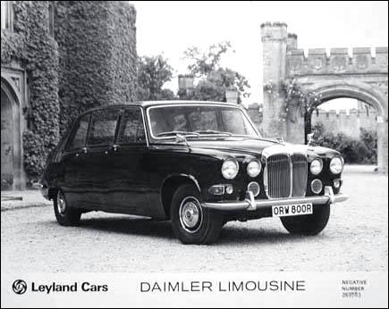 1976 Daimler limousine