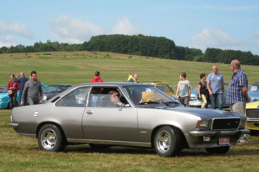 1976 Opel Rekord Sprint Coupé (Rekord D)