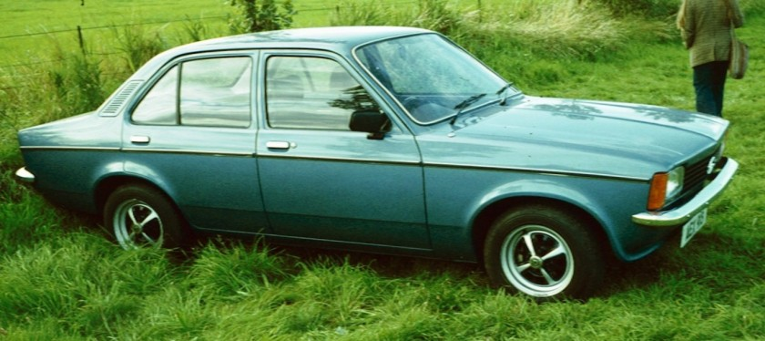 1977 Opel Kadett C 4 door post face-lift