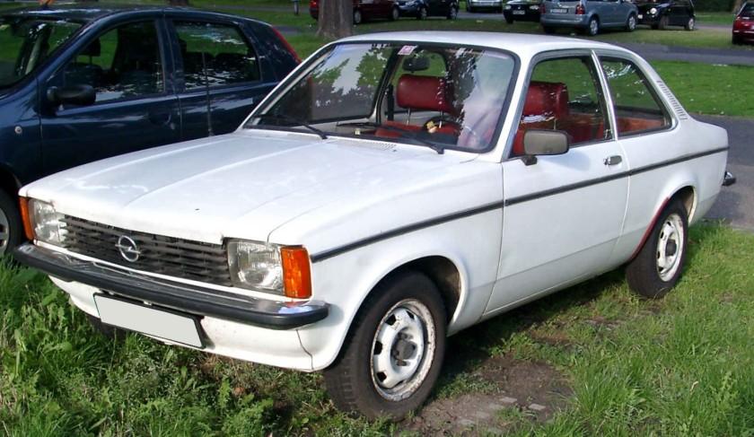 1977 Opel Kadett C front