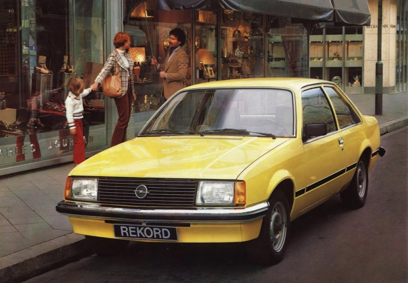1977 Opel Rekord-e 1977 Tweedeursuitvoering