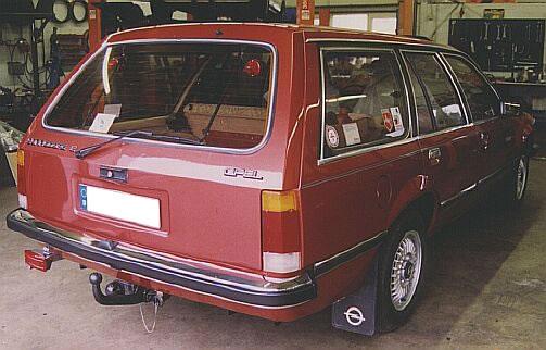 1977–1982 Opel Commodore C voyage