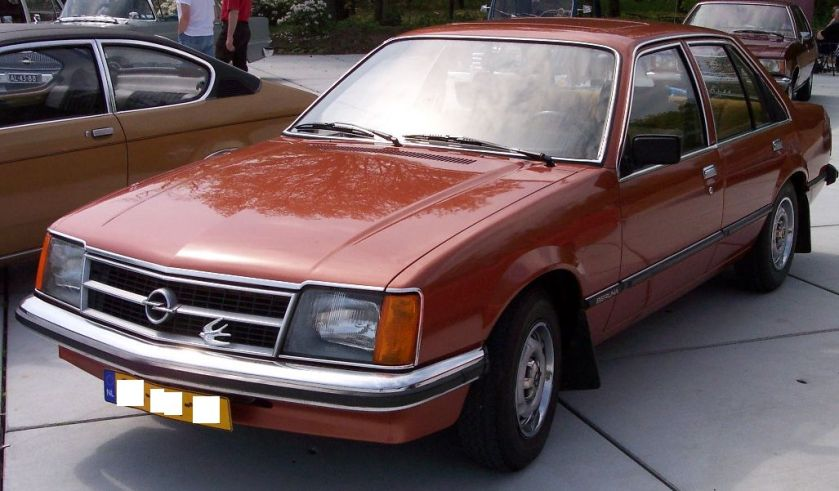 1977–82 Opel Commodore C red