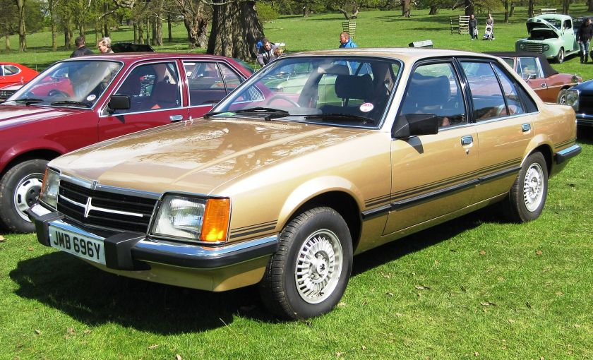 1977–82 Opel Commodore C Vauxhall Viceroy 2490 cc