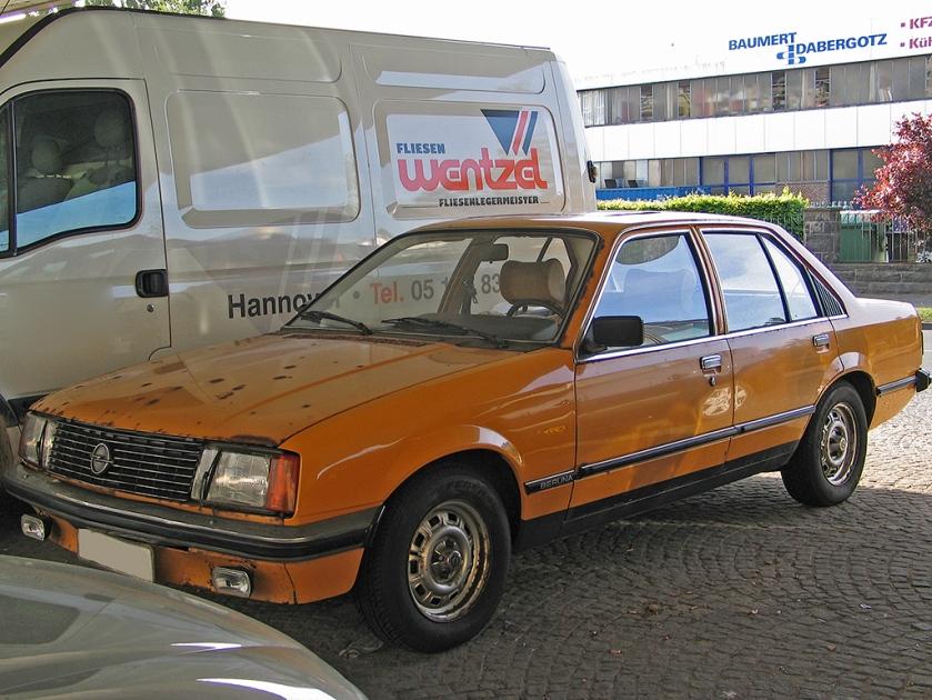 1977–86 Opel rekord 4d E