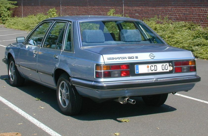 1978-86 Opel Senator A1 CD rear (1978–1986)
