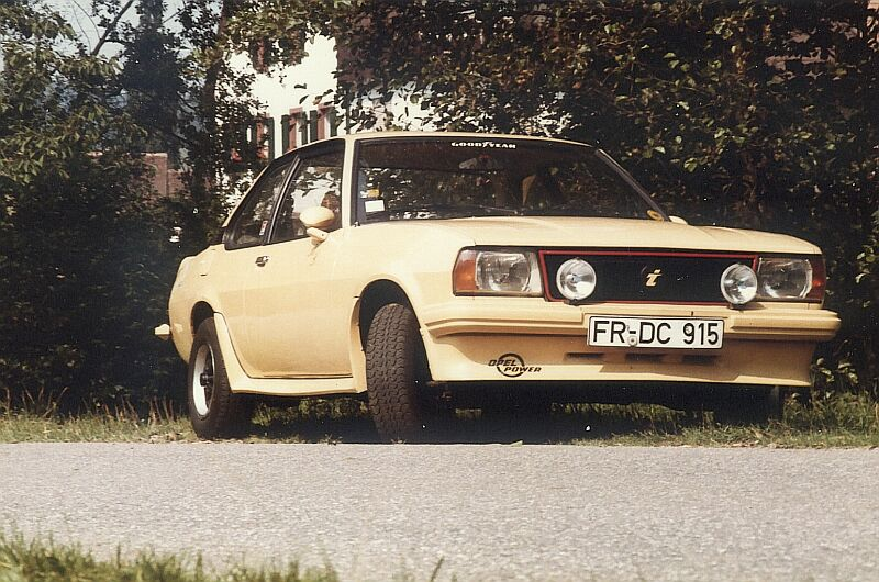 1978 Opel Ascona B 2,0 irmscher 2