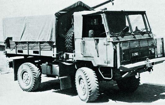 1978 SAMIL-20 Mk-I, 4x4
