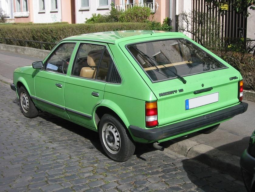 1979-84 Opel kadett d rear