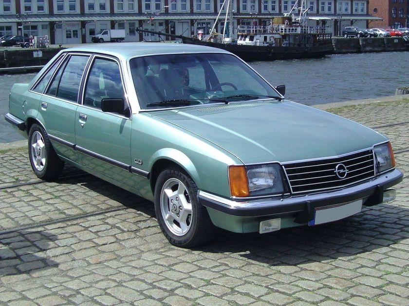 1979 Opel Senator A1 3,0 CD