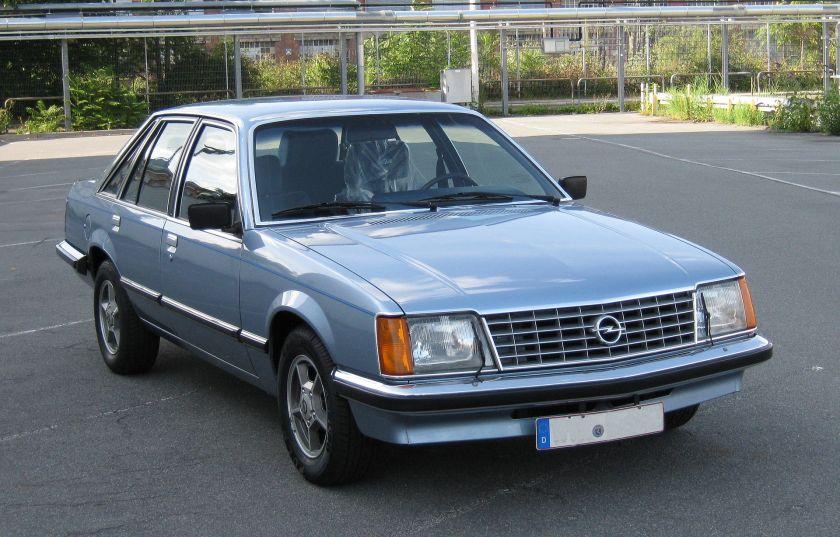 1980 Opel Senator A1 CD