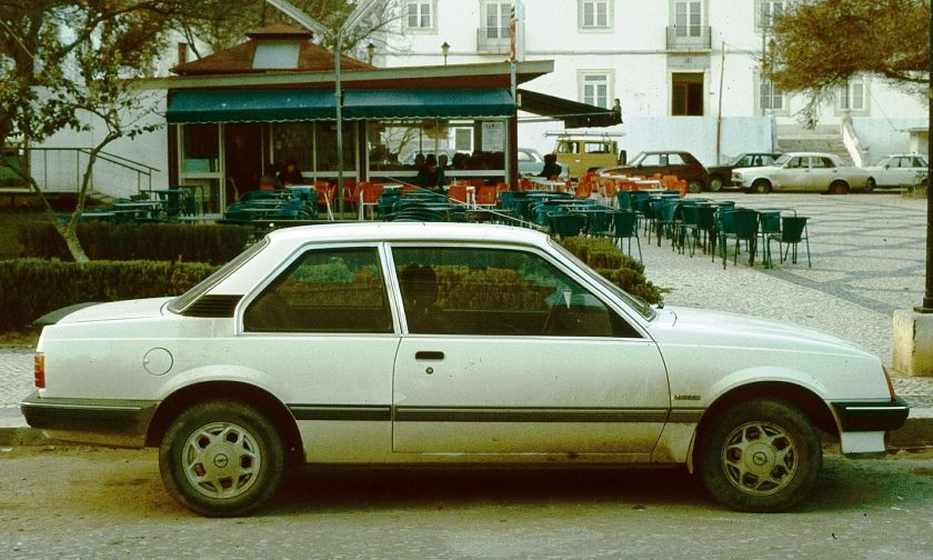 1981-84 Opel Ascona 2d Algarve