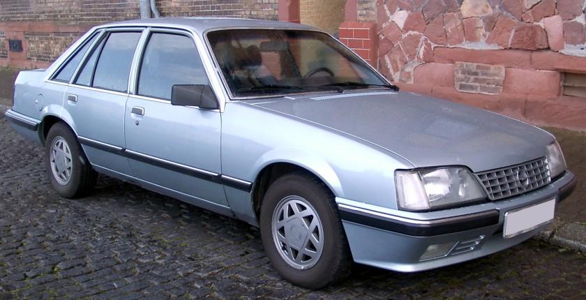 1982-86 Opel Senator A2 front