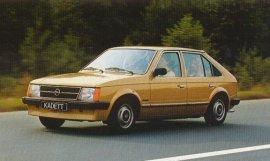 1982 Opel Kadett Berlina