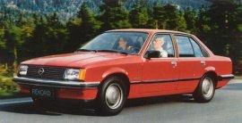 1982 Opel Rekord DeLuxe 4-Door