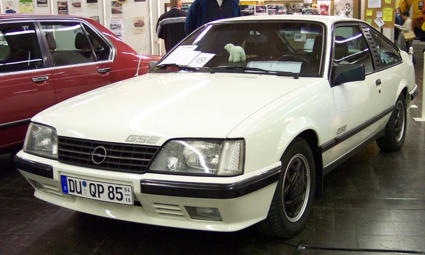 1983-86 Opel Monza GSE vl white TCE