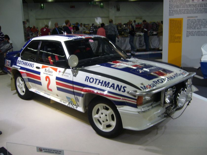 1983 Opel Ascona 400 Rallye Rothmans