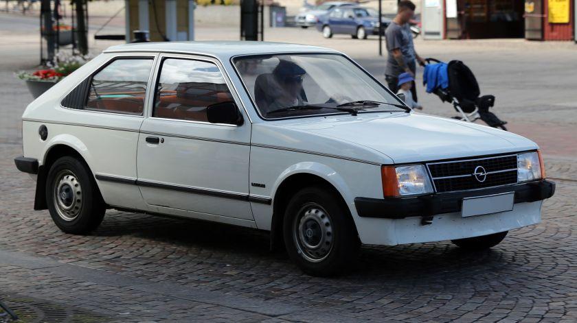 1983 Opel Kadett 1.3 GL Luxus 3-door