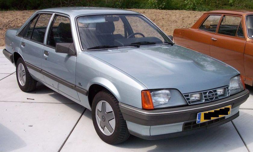 1984 Opel Rekord E 2-3Diesel